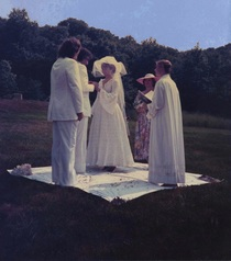 Selena Parrish & Max Elbo wedding; June 21, 1991.  Starkey Point, Beaver Lake.